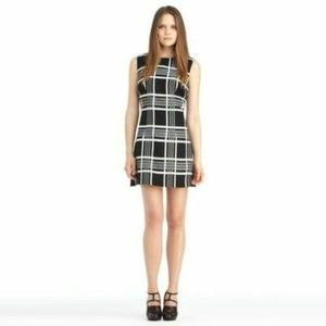Rachel Roy Black White Plaid Seen on Glee Dress